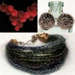 Wire and Yarn Jewellery
